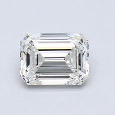 Recommended Stone #3: 0,97-Carat Emerald Cut Diamond