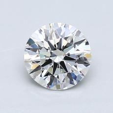 1.01 Carat 圆形 Diamond 理想 H VVS1