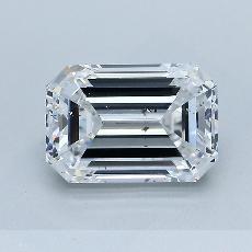 Recommended Stone #4: 2.60-Carat Emerald Cut Diamond