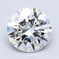 2.01-Carat Round Diamond Ideal E VS2