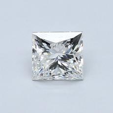 Recommended Stone #3: 0.79-Carat Princess Cut Diamond