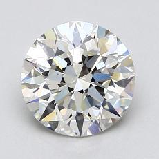 Current Stone: 1,83-Carat Round Cut