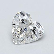 1,01-Carat Heart Diamond Very Good G SI1