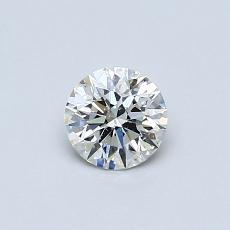 推荐宝石 3:0.43克拉圆形切割钻石