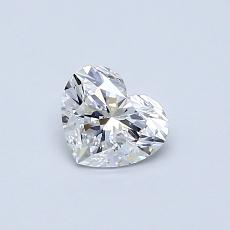 Recommended Stone #3: 0,47-Carat Heart Cut Diamond