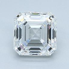 Recommended Stone #2: 2.03-Carat Asscher Cut Diamond