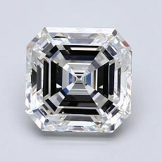 2.03-Carat Asscher Diamond Very Good F VS2