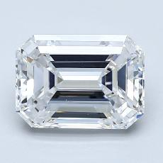 Recommended Stone #4: 3,02-Carat Emerald Cut Diamond
