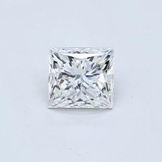 Recommended Stone #3: 0,51-Carat Princess Cut Diamond