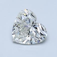 Recommended Stone #2: 1.02-Carat Heart Cut Diamond