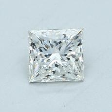 0.70 Carat 公主方形 Diamond 非常好 G VVS1