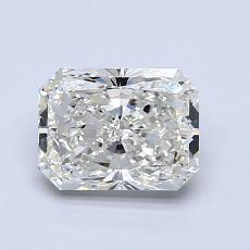 1,02-Carat Radiant Diamond Very Good I VVS2