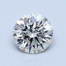 オススメの石No.3:1.01カラットのラウンドカットダイヤモンド