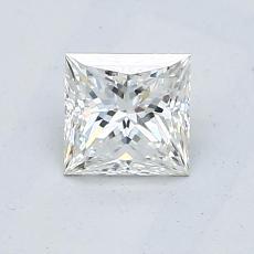 Recommended Stone #4: 0.56-Carat Princess Cut Diamond