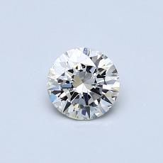 Pierre recommandée n°1: Diamant taille ronde 0,40 carat