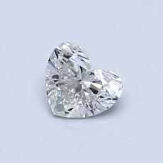 Recommended Stone #2: 0.50-Carat Heart Cut Diamond