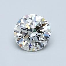 Recommended Stone #1: 0.95-Carat Round Cut Diamond