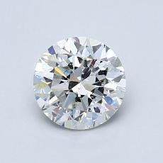 1.00-Carat Round Diamond Good G SI2