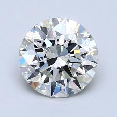 1.23-Carat Round Diamond Ideal H VS1