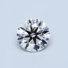 推薦鑽石 #2: 0.60 克拉圓形切割鑽石