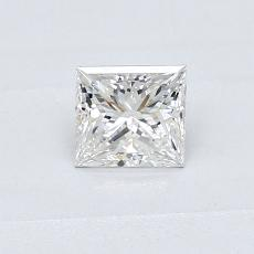 Recommended Stone #1: 0,39-Carat Princess Cut Diamond