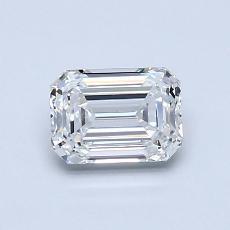 Recommended Stone #1: 0.80-Carat Emerald Cut Diamond