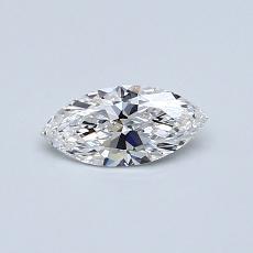 推荐宝石 4:0.30 克拉榄尖形钻石
