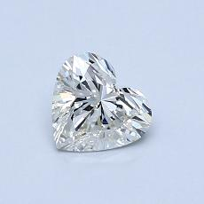 Recommended Stone #3: 0,56-Carat Heart Cut Diamond