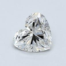 Recommended Stone #1: 0.84-Carat Heart Cut Diamond