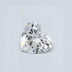 Recommended Stone #1: 0,33-Carat Heart Cut Diamond