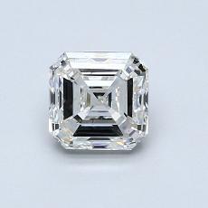 Pierre recommandée n°4: Diamant taille Asscher 1,00 carat