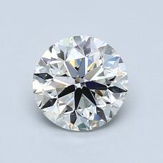 1.00-Carat Round Diamond Very Good I VS2