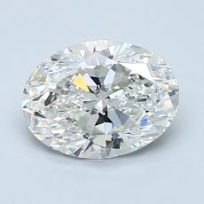 1.29-Carat Oval Diamond Very Good G VS2