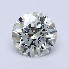 1.51-Carat Round Diamond Ideal I VS2