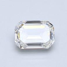 推薦鑽石 #3: 0.91  克拉綠寶石形切割鑽石
