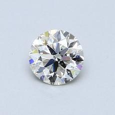 当前宝石:0.50 克拉圆形切割