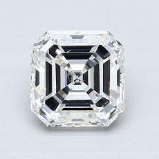 Pierre recommandée n°2: Diamant taille Asscher 1,03 carat