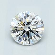 1.15 Carat 圆形 Diamond 理想 D VVS1