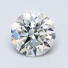 1,30-Carat Round Diamond Ideal K VVS2