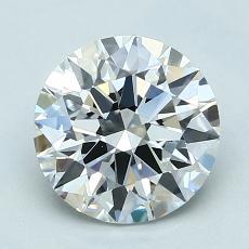 Pierre recommandée n°1: Diamant taille ronde 1,81 carat
