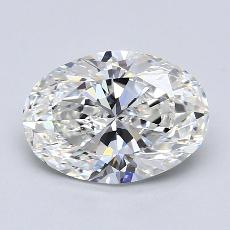 推荐宝石 3:1.79克拉椭圆形切割钻石