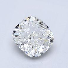 1.01-Carat Cushion Diamond Very Good I VVS2