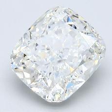 3.04-Carat Cushion Diamond Very Good H VS1