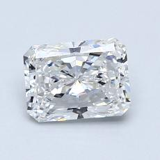 1.01-Carat Radiant Diamond Very Good F VS1