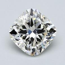 推荐宝石 1:1.71 克拉垫形钻石