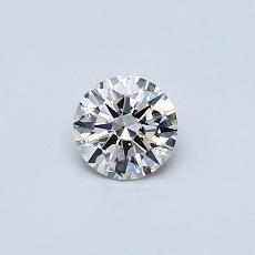 0.30 Carat 圆形 Diamond 理想 G SI2