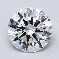 1.00 Carat 圆形 Diamond 理想 G VVS2