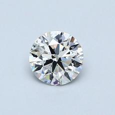 推荐宝石 3:0.50克拉圆形切割钻石