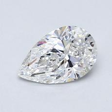 Pierre recommandée n°1: Diamant taille poire 0,77carats