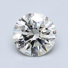 1.23-Carat Round Diamond Ideal K SI2